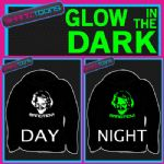 KEITH LEMON BANG TIDY ADULTS & CHILDRENS GLOW IN THE DARK HOODIE HOODY